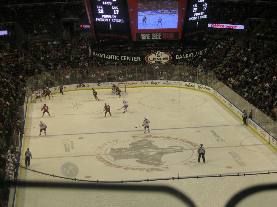 Panthers vs Coyotes