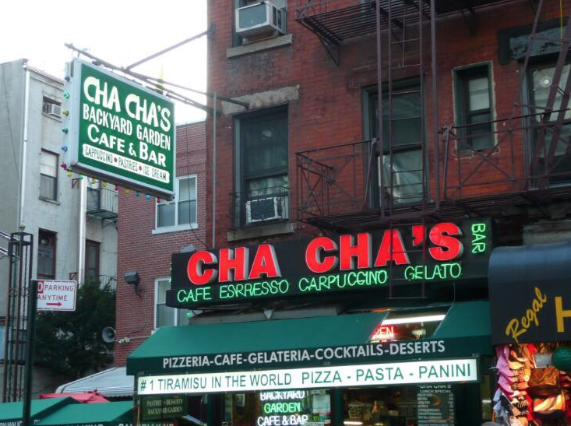 Cha Cha's Mulberry Street