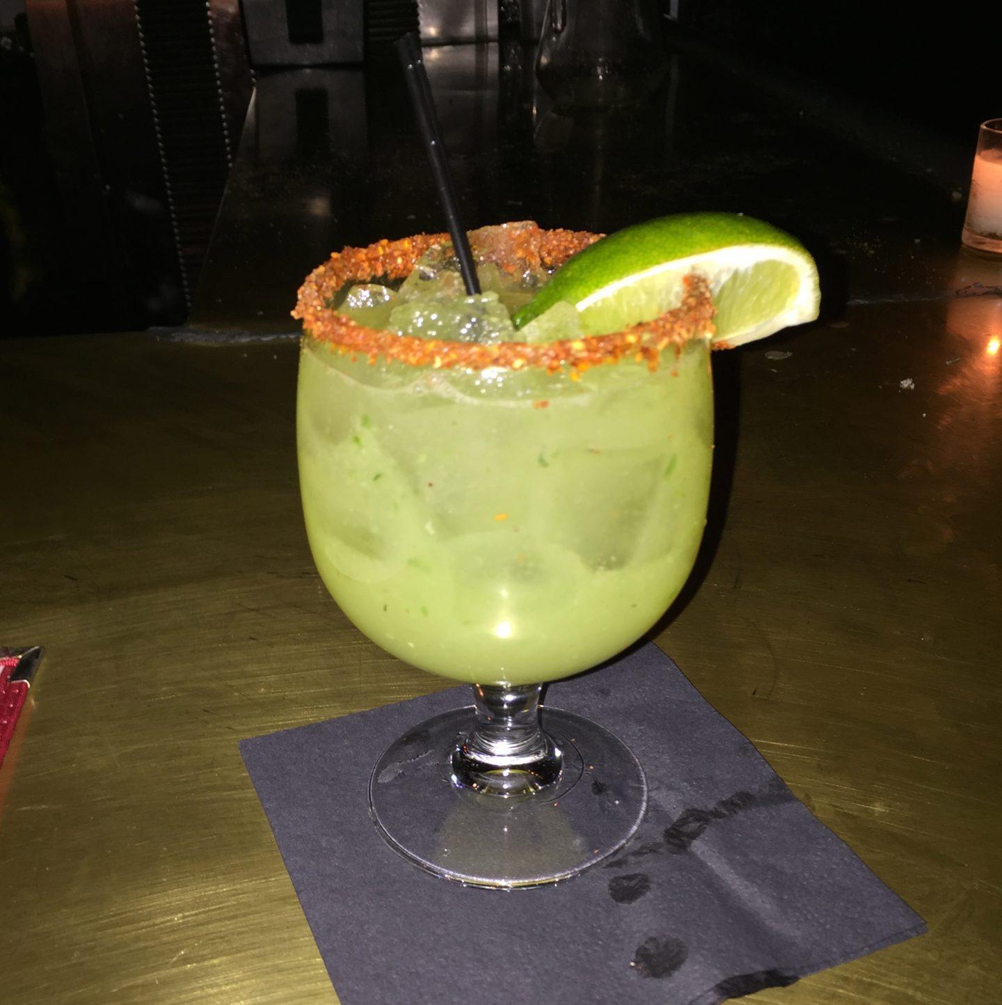 Favourite cocktail ever. La Esquina, Kenmare St Soho, New York