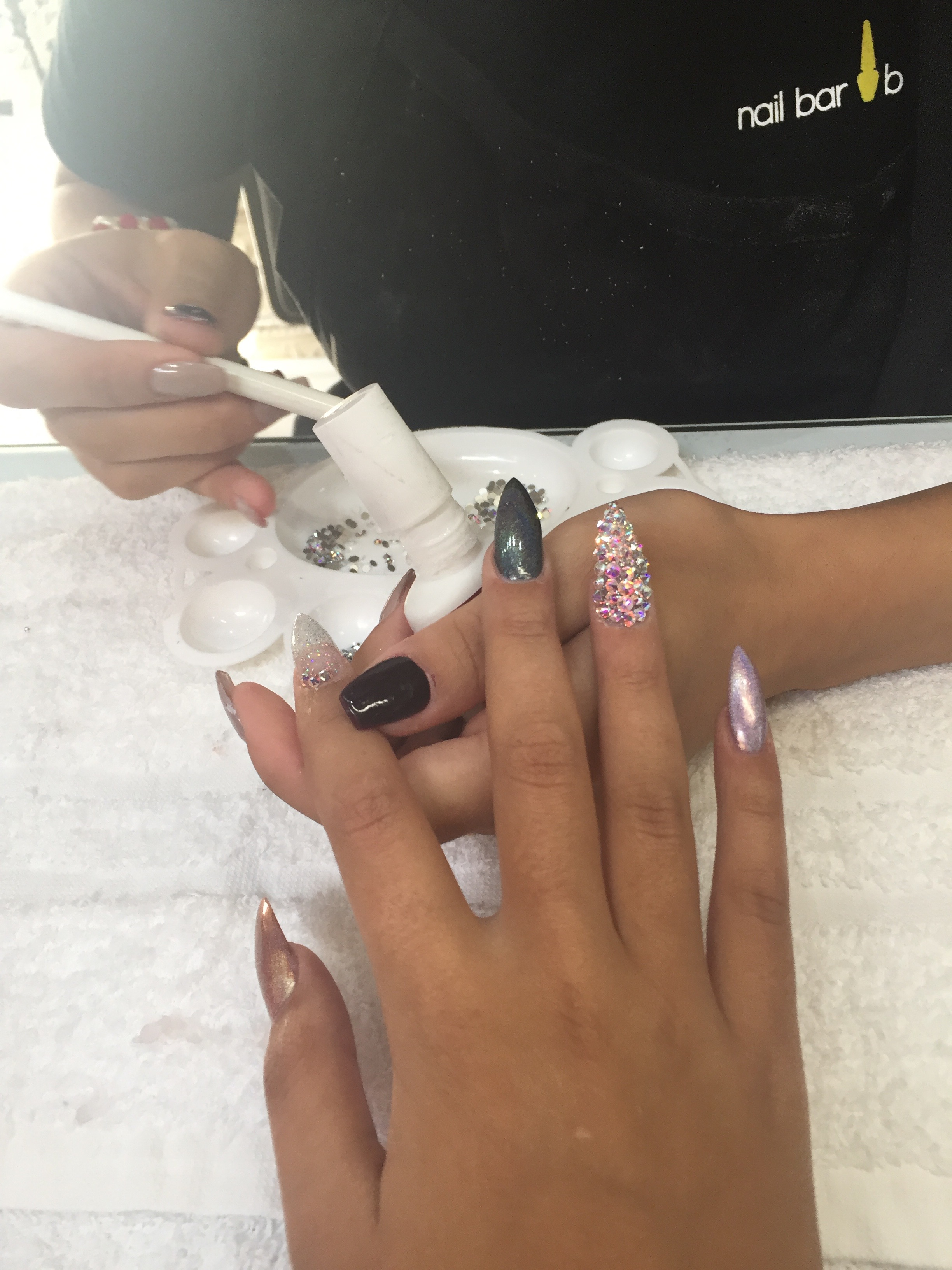 Laque Nails During