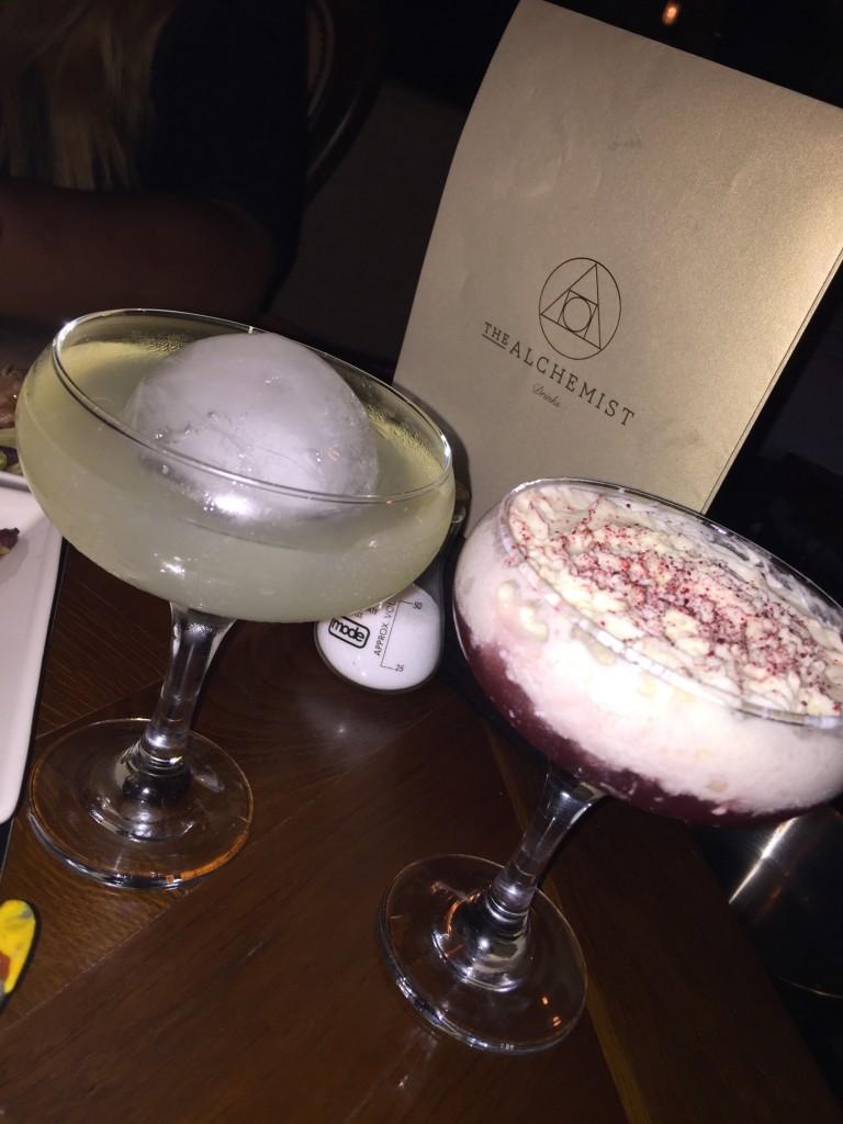 Alchemist cocktails