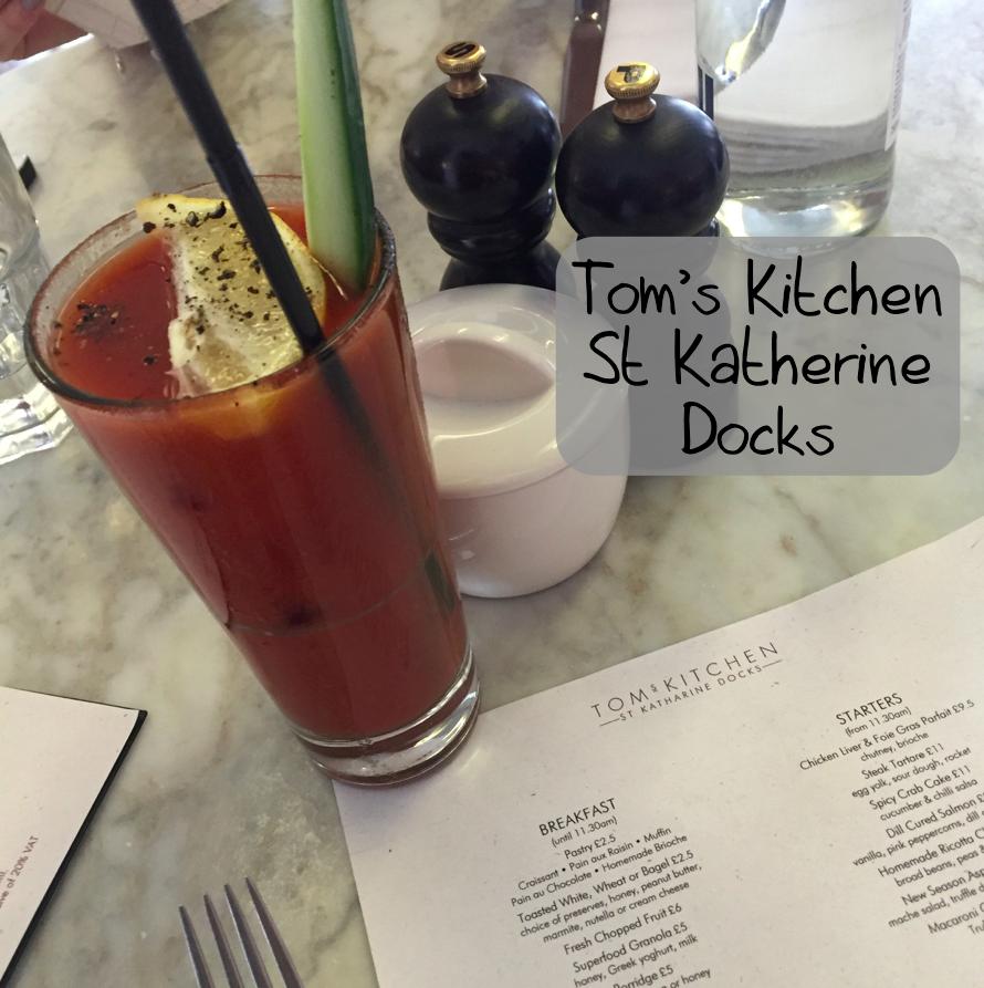 Tom's Kitchen St Katherine Docks