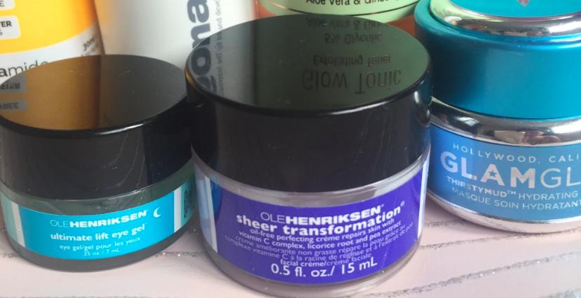 Travel Skincare Moisturiser, Eye + Mask