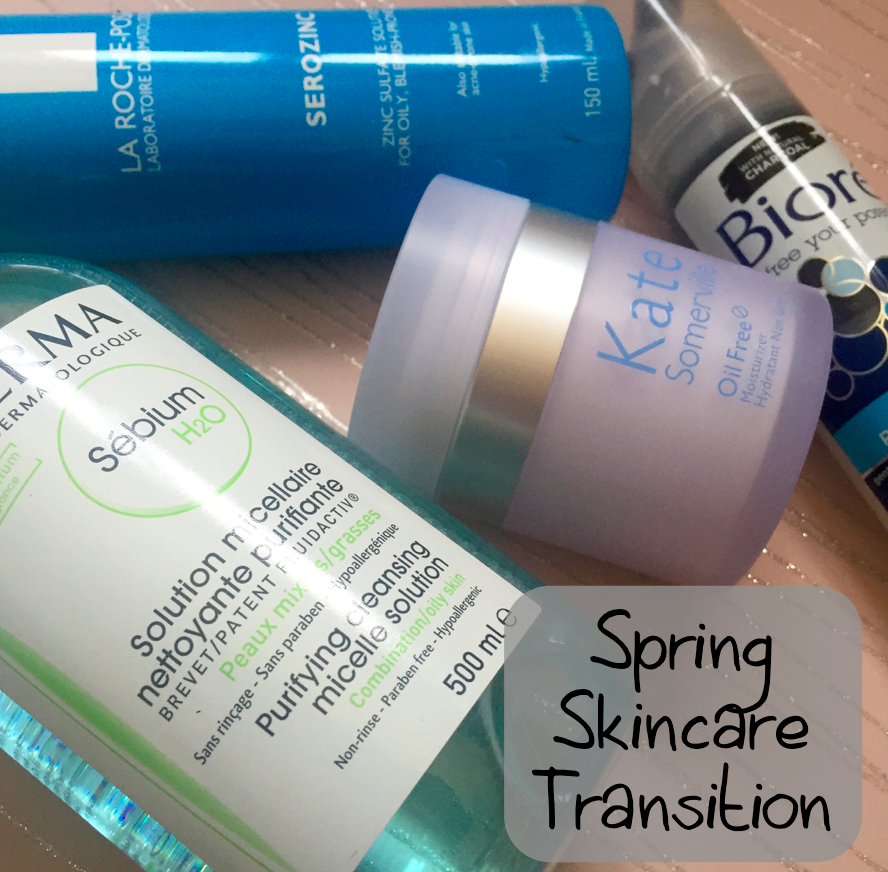 Spring Skincare Transition