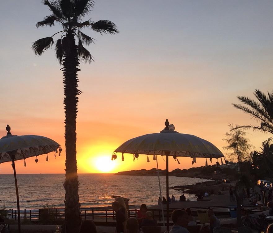 Sunset at Golden Buddha Ibiza | Cala des Moro