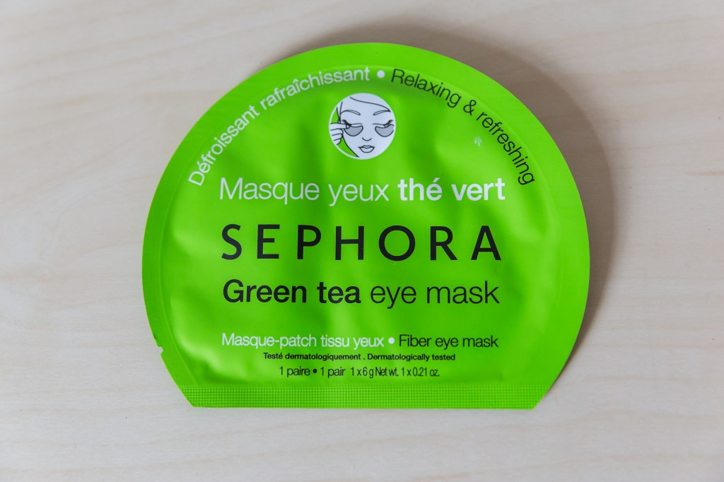 Relaxing & Refreshing Green Tea Eye Mask Sephora