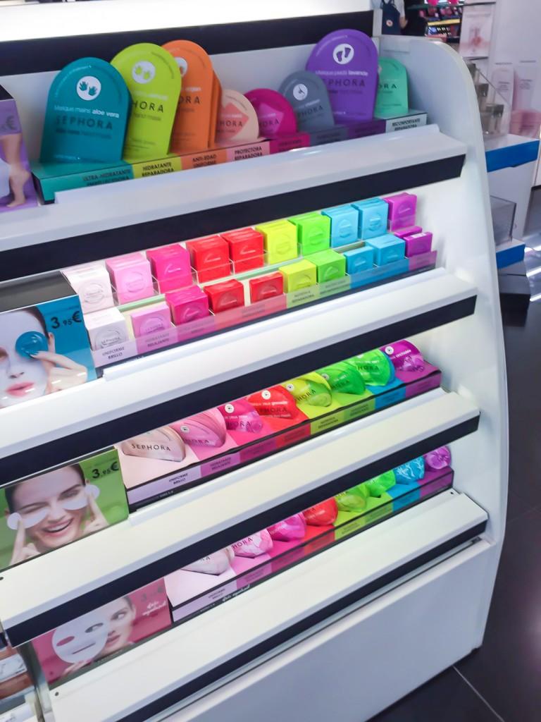 Sheet Mask Range Sephora Barcelona