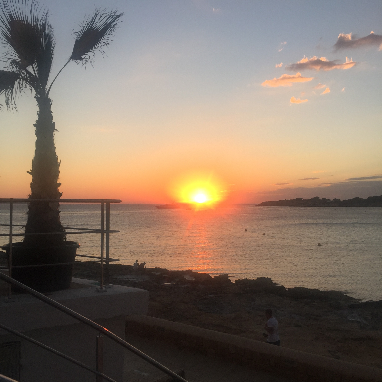 Sunset at Kasbah Ibiza