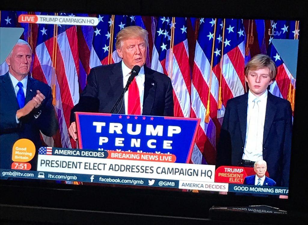 Trump Announced President