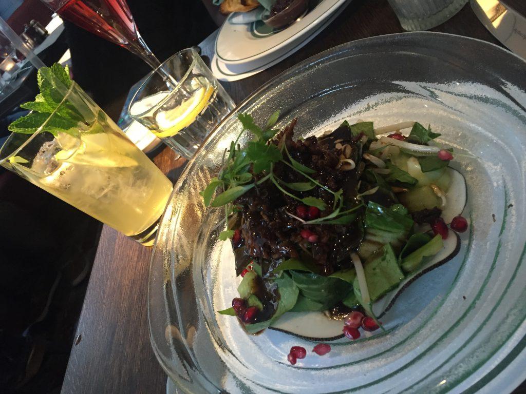 Duck Salad Ivy Cafe