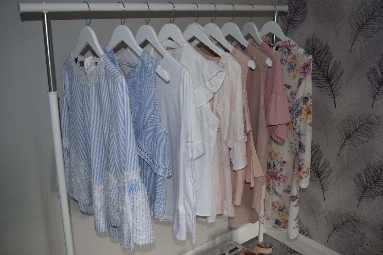 Spring Clothes Rail