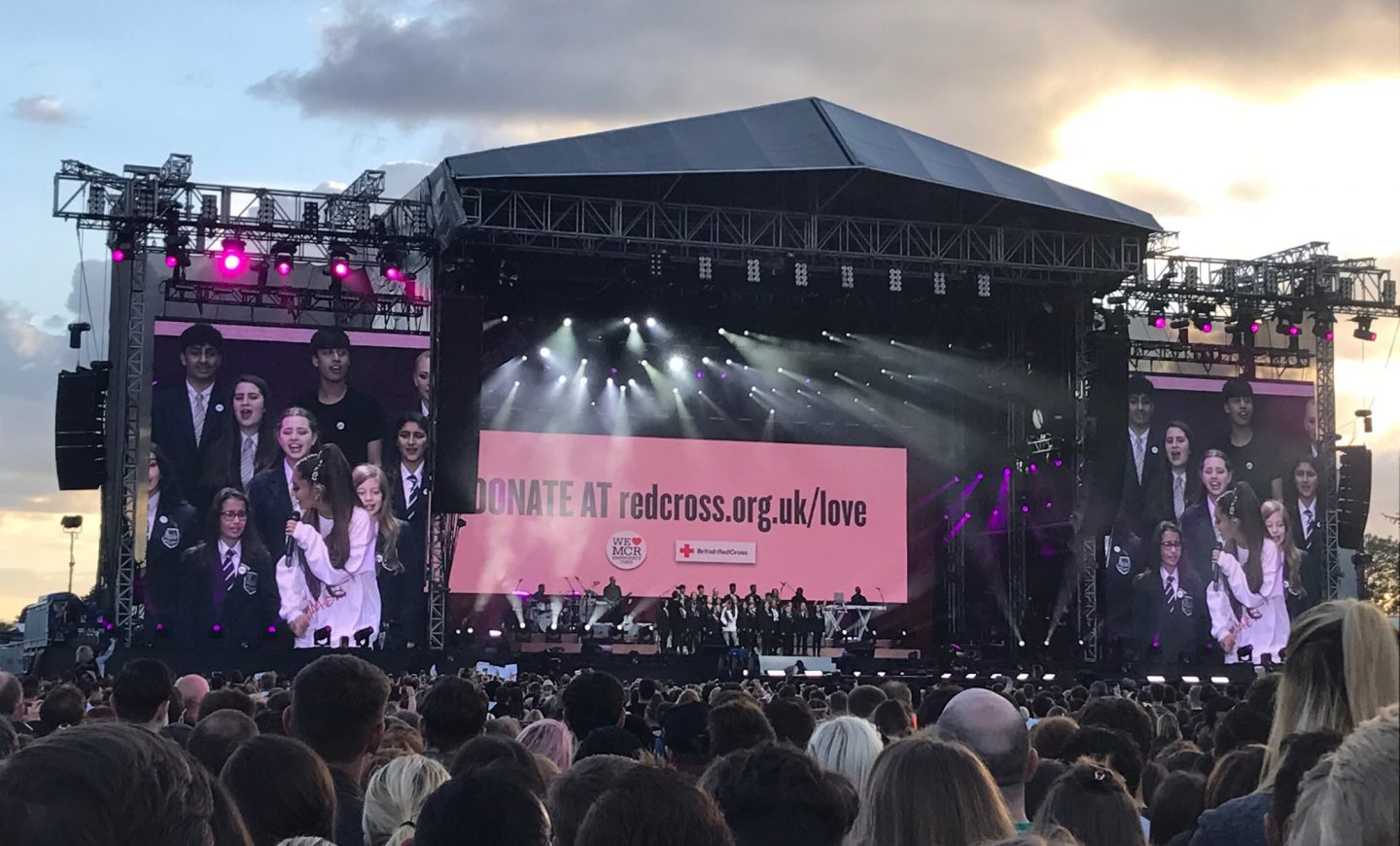 One Love Manchester Event Ariana