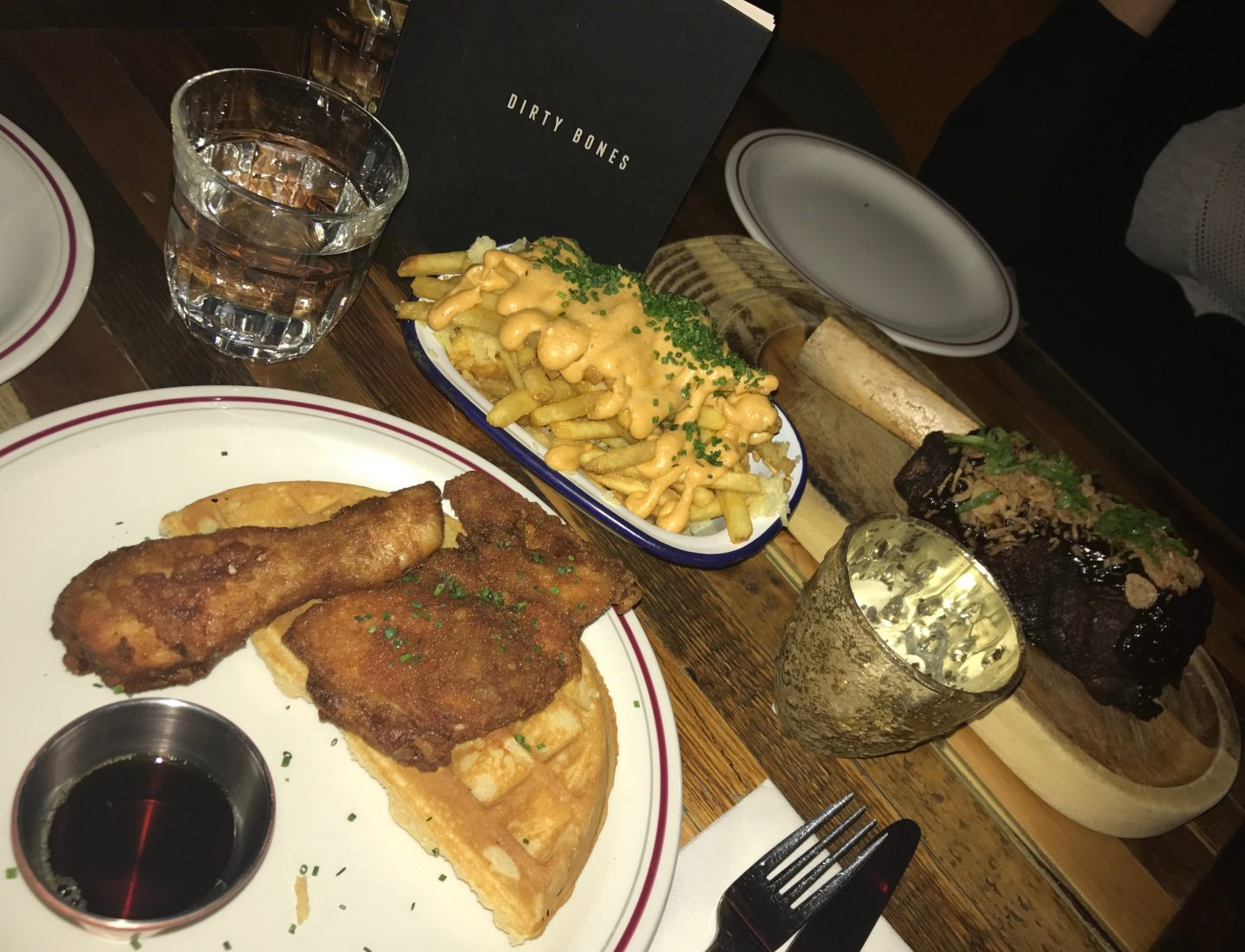 Dirty Bones Chicken and Waffles
