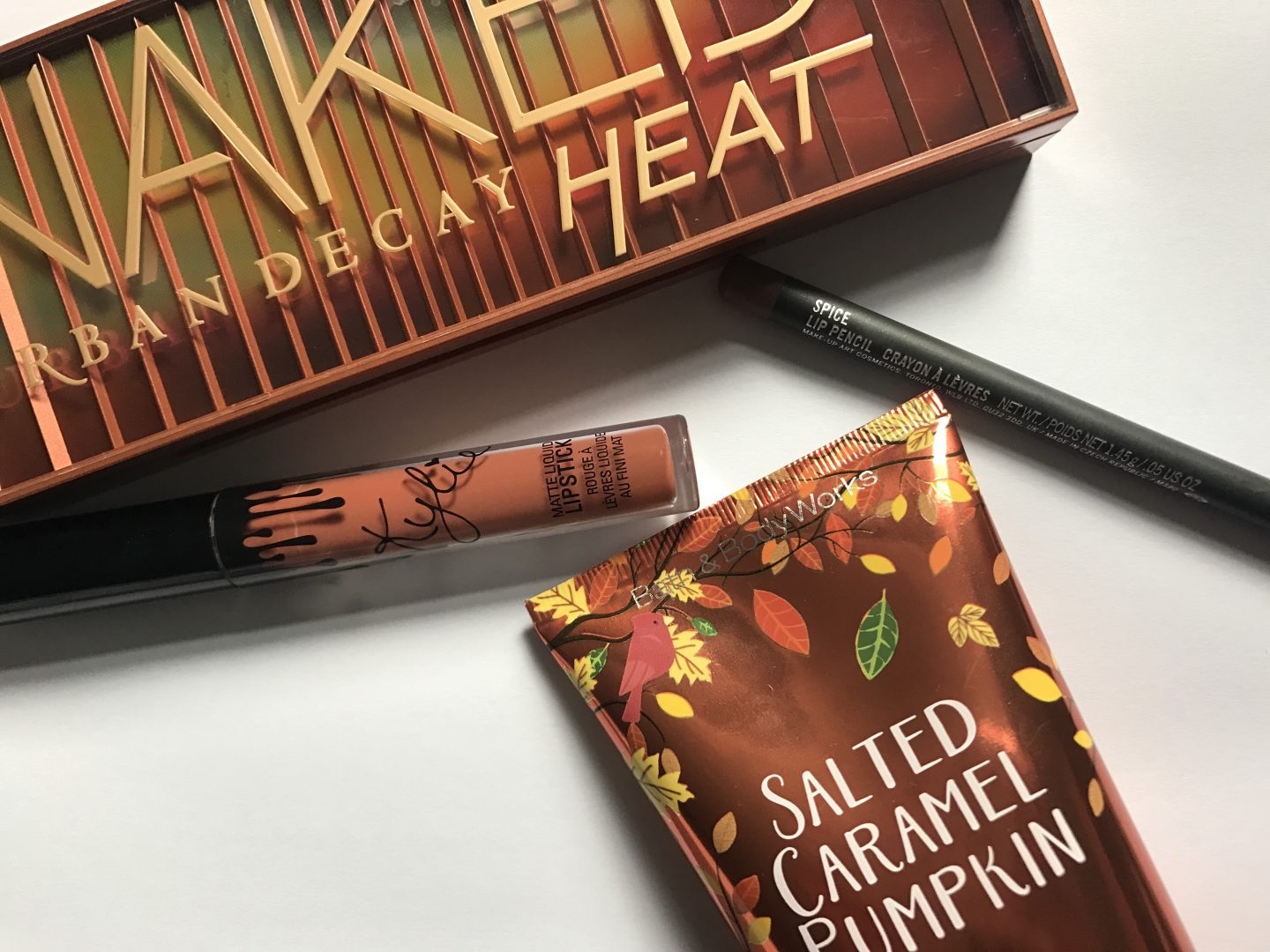 Naked Heat, Mac, Spice, Kylie Ginger