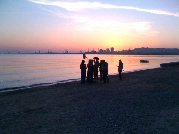 Sunset Shooting Albania