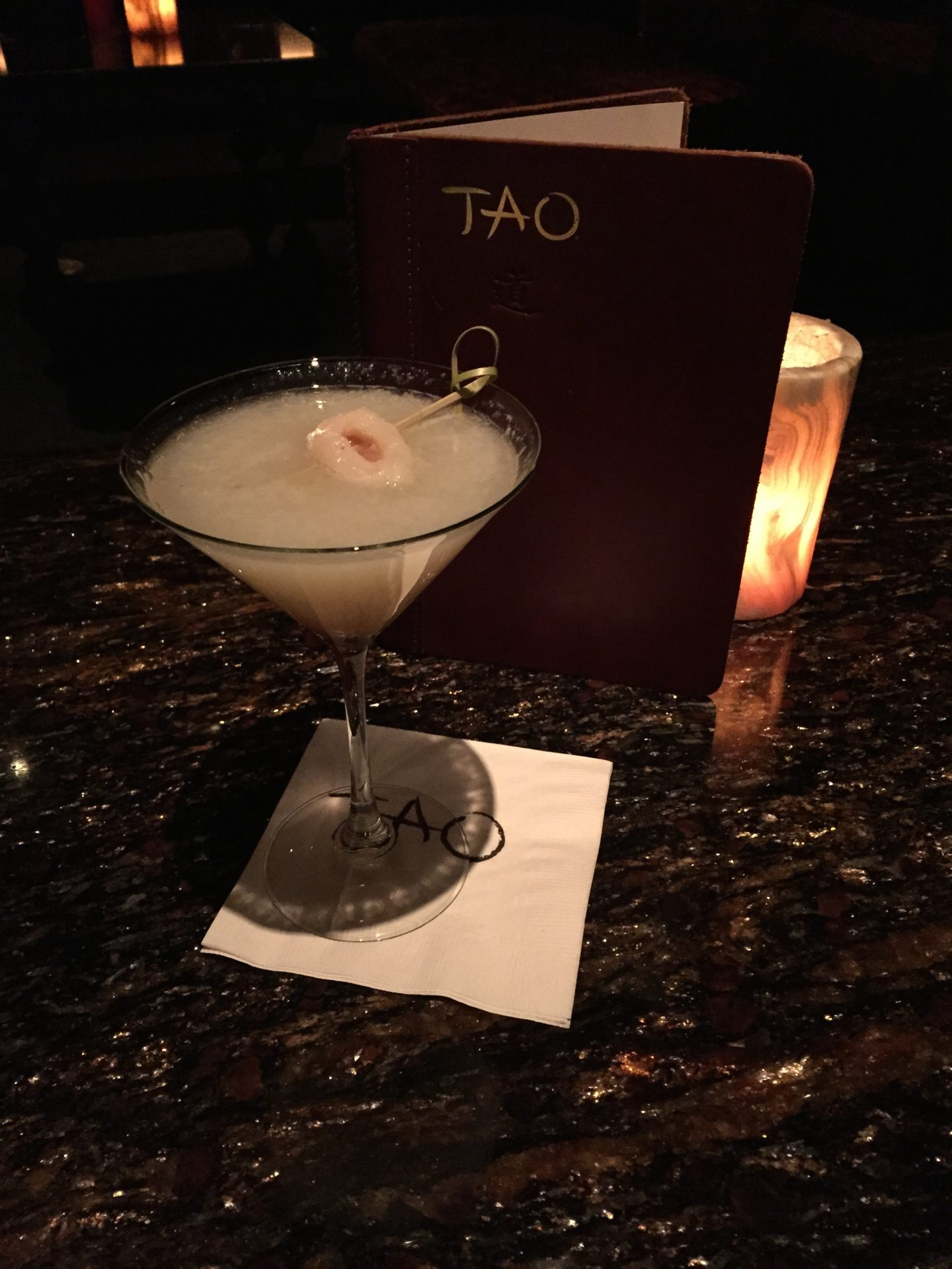 Tao Downtown Lychee Martini