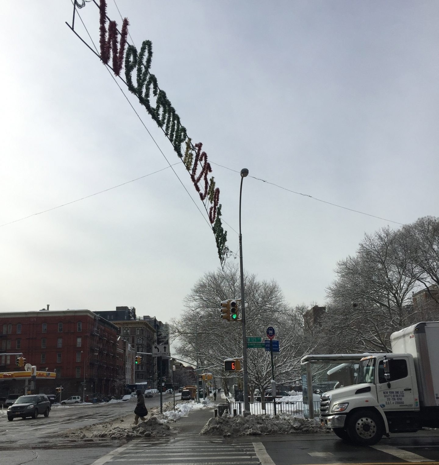 Welcome to 125th Street Harlem