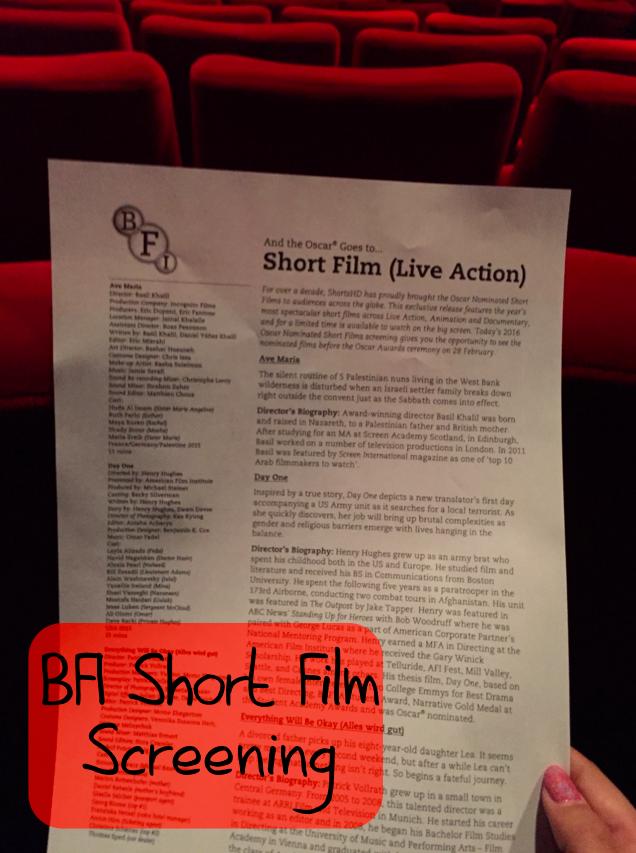 BFI Shorts Screening