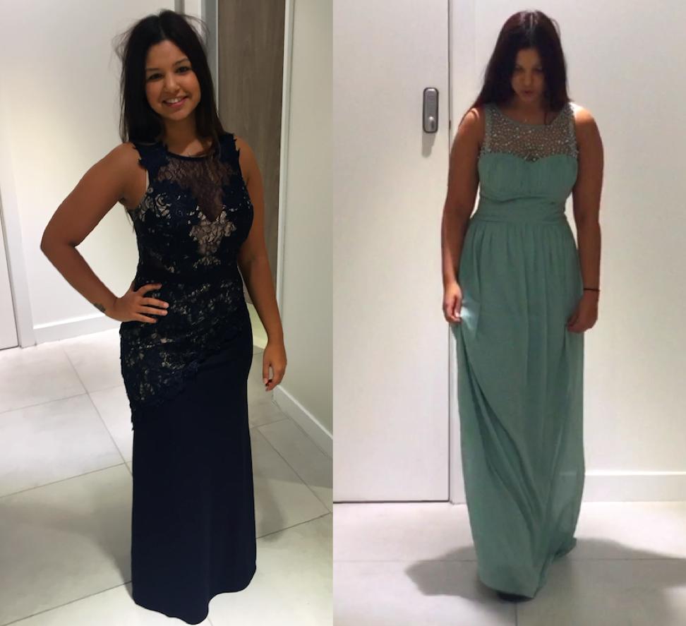 1st Dress Options