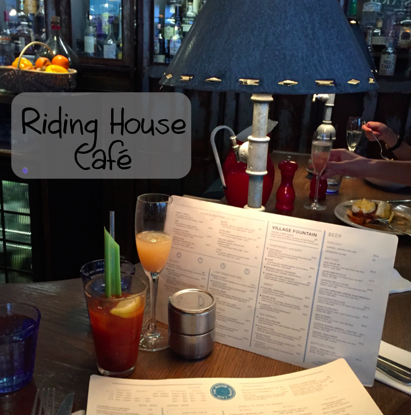 Riding House Cafe