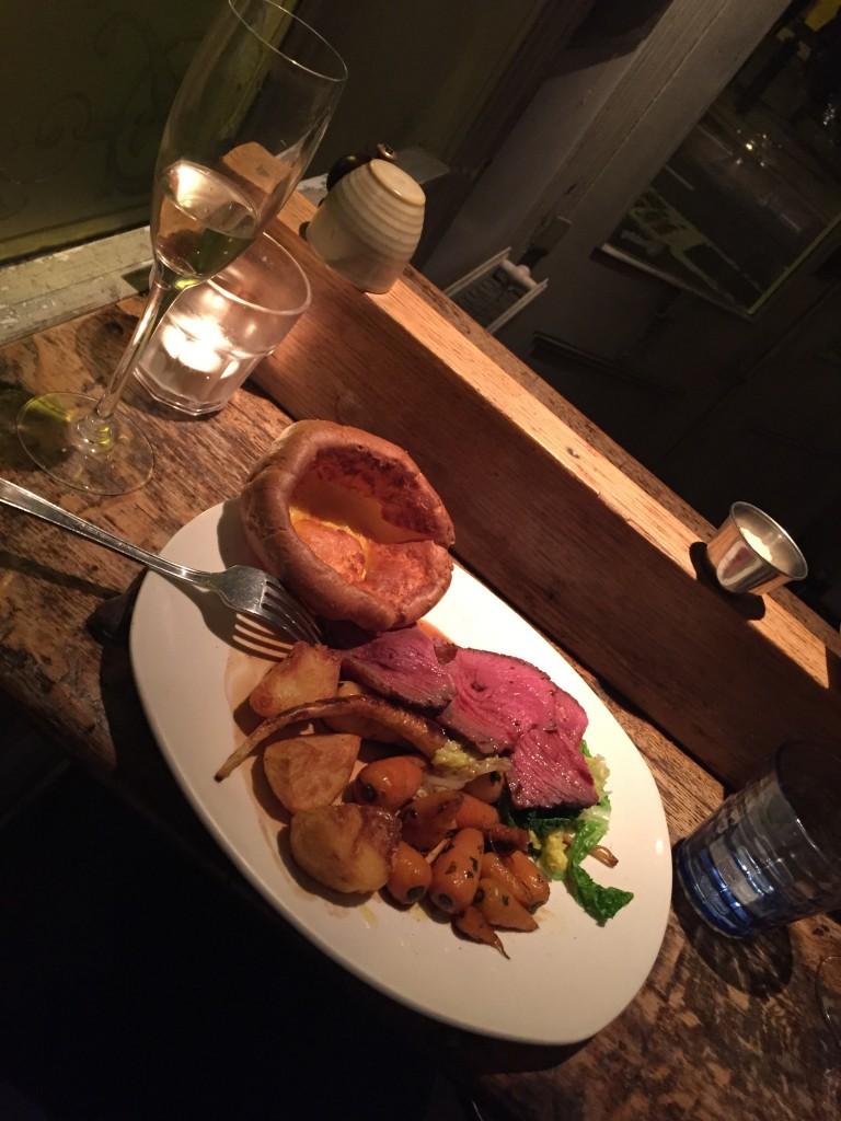 Sunday Roast at The Garrison