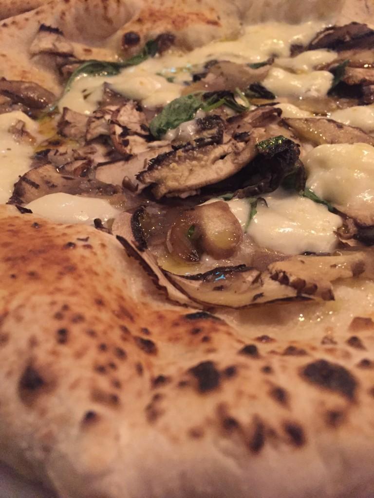 Portobello Mushroom + Truffle Pizza