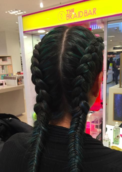 Back of my braids