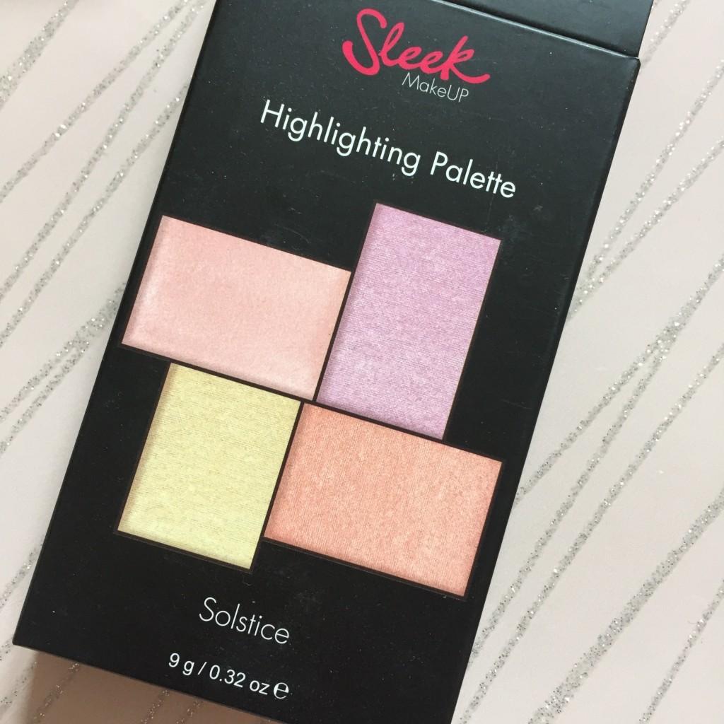 Sleek Highlighting Palette in Solstice