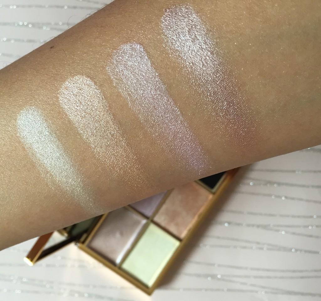 Sleek Solstice Highlight Palette Swatches