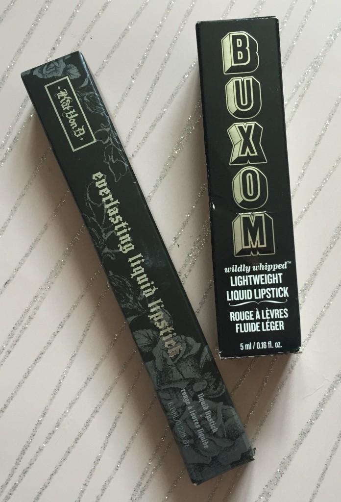 Kat Von D Everlasting Liquid LIpstick + Buxom Lightweight Liquid Lipstick