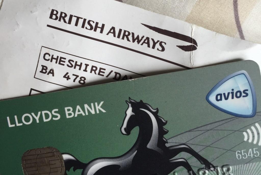 Avios Credit Card, British Airways Boarding Pass