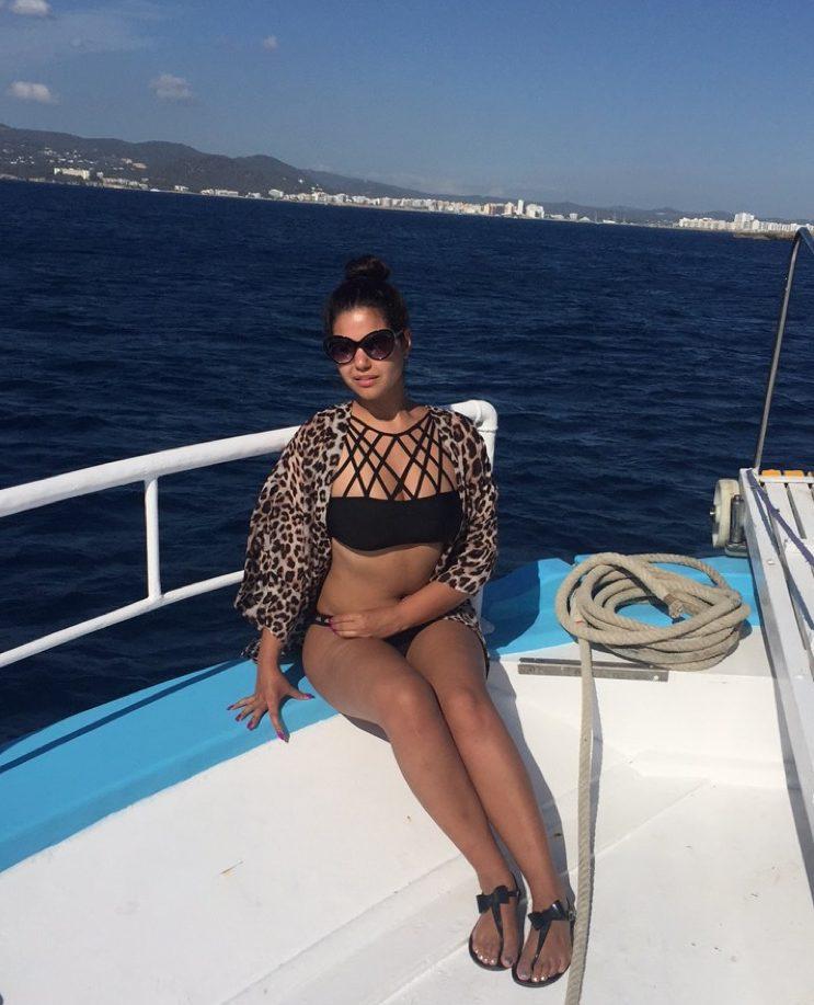 Boat to Cala Bassa