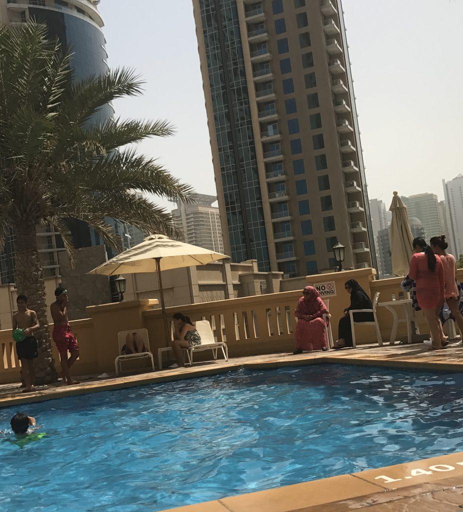 Amwaj Suites Pool