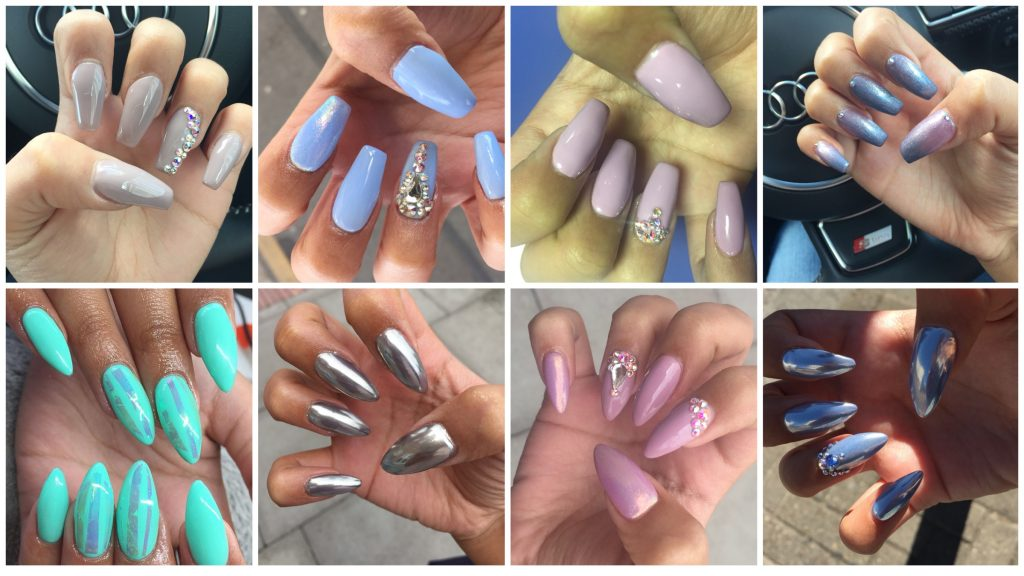 Nails from @1nailsbyk since March