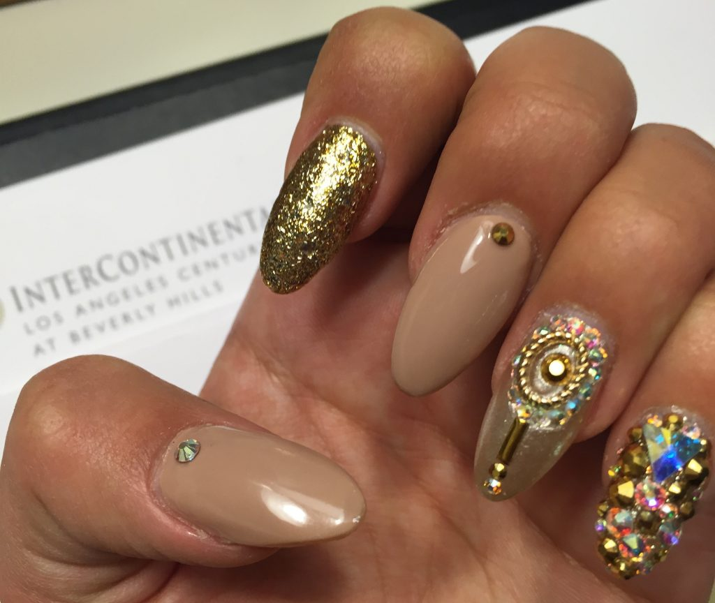 Nails for The Oscars by Laque Nail Bar