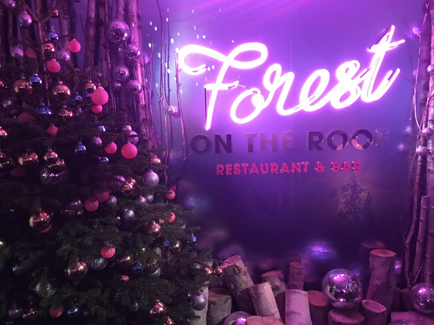 Forest on the Roof Selfridges