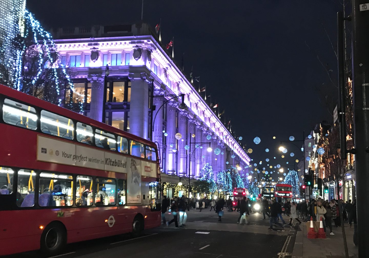Oxford Street Selfridges