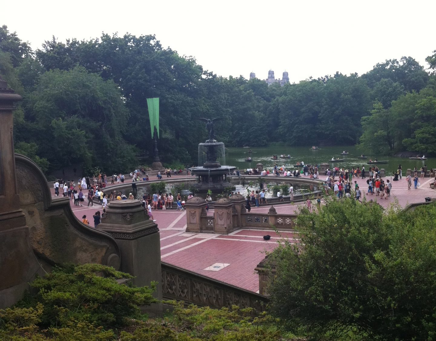 Bethesda Terrace and Angel Fountain