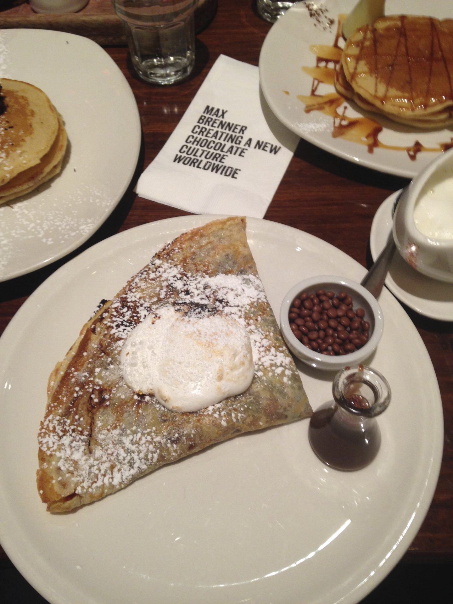 Breakfast at Max Brenner