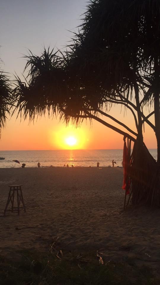 Sunset at Karon Beach
