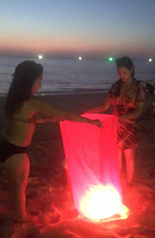 Lanterns on Karon Beach