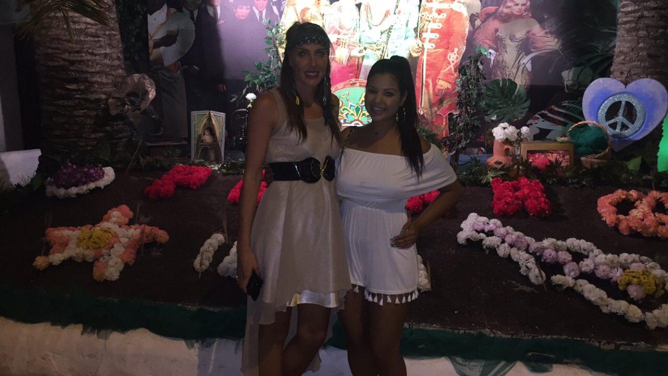 Me + Nicole at Flower Power, Pacha Ibiza