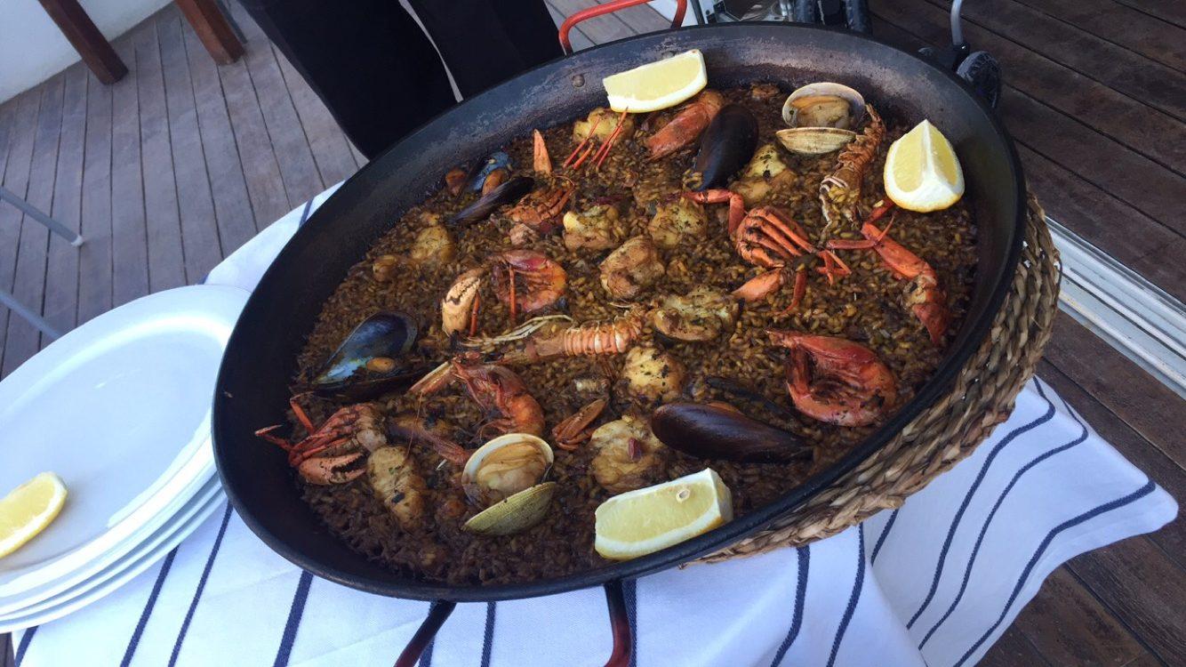 Seafood Paella Port Balansat