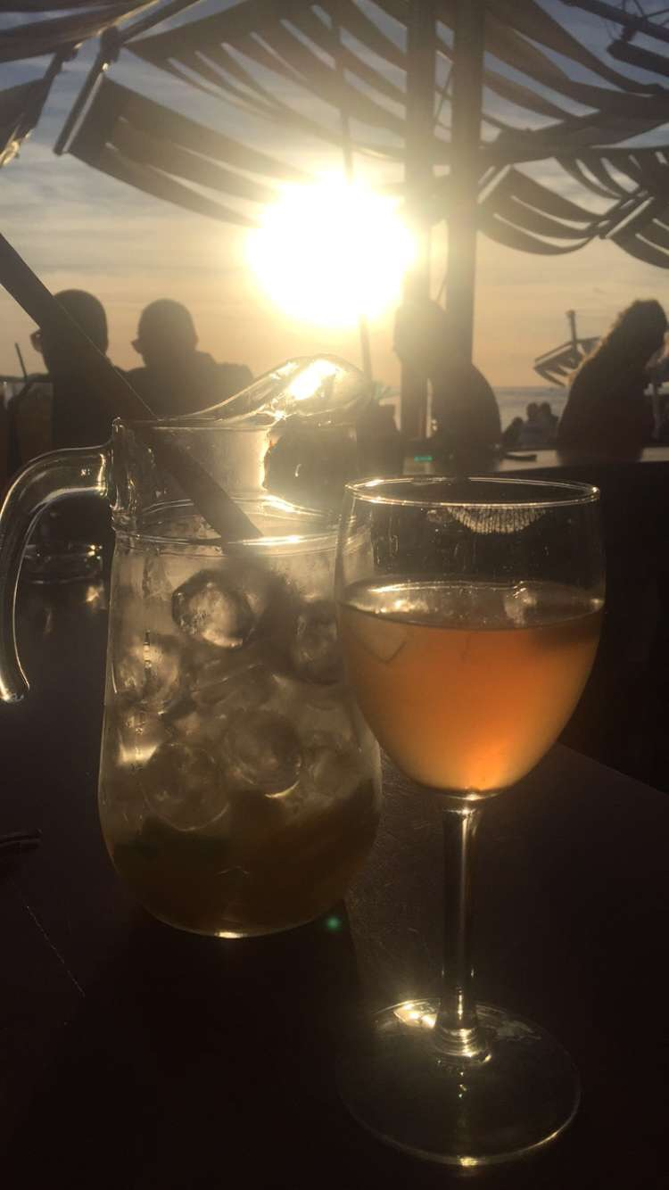 Sangria and Sunset, Cafe del Mar