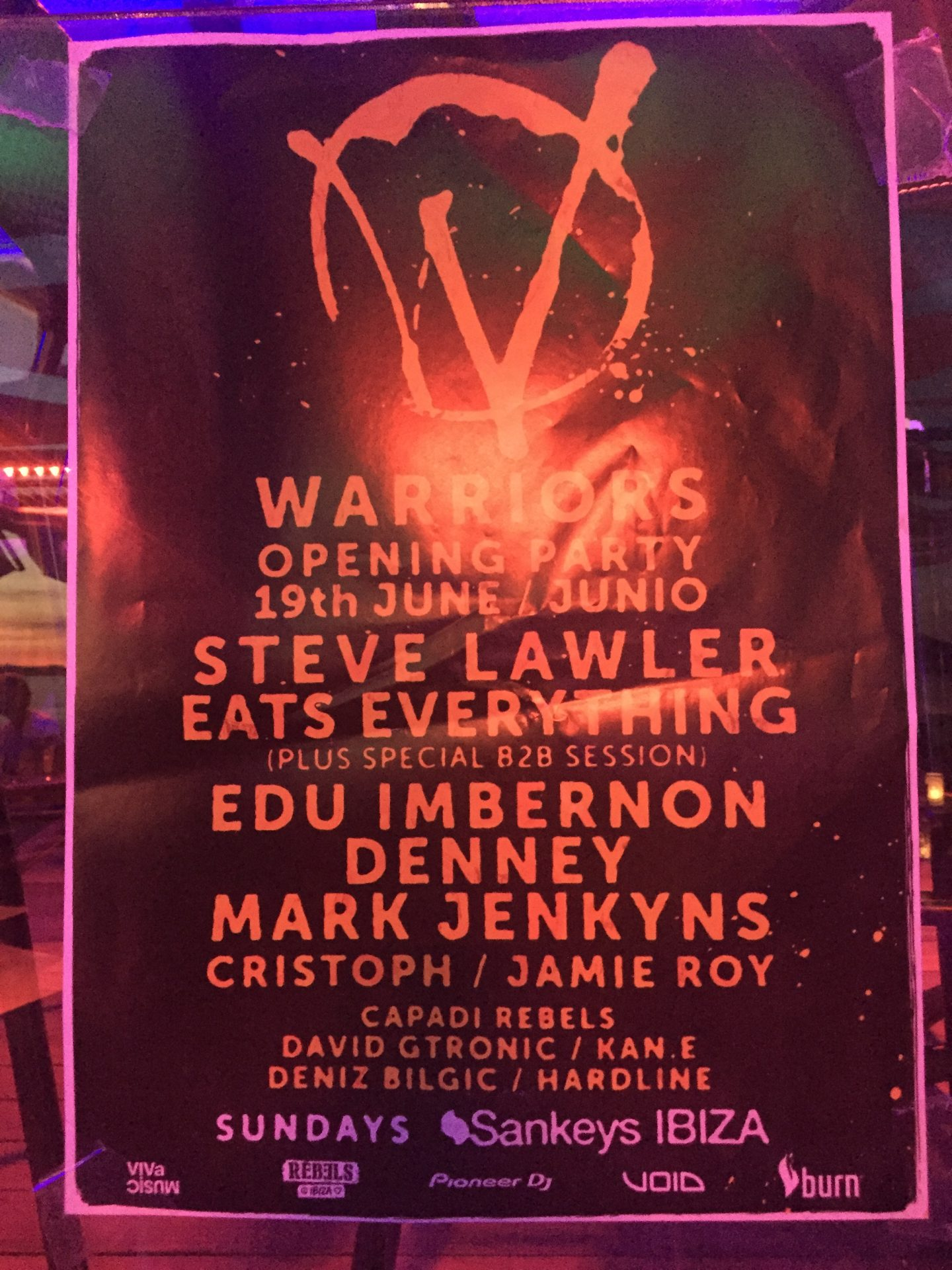 Viva Warriors Opening Party
