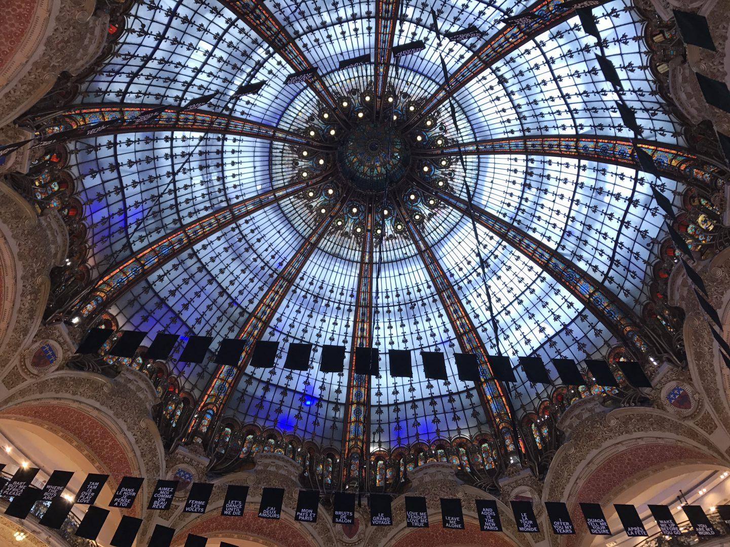 Galeries Lafayette Glass Roof