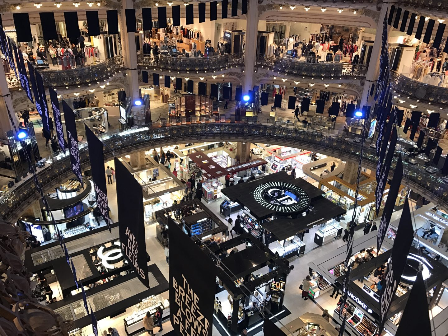 Galeries Lafayette Beauty Hall