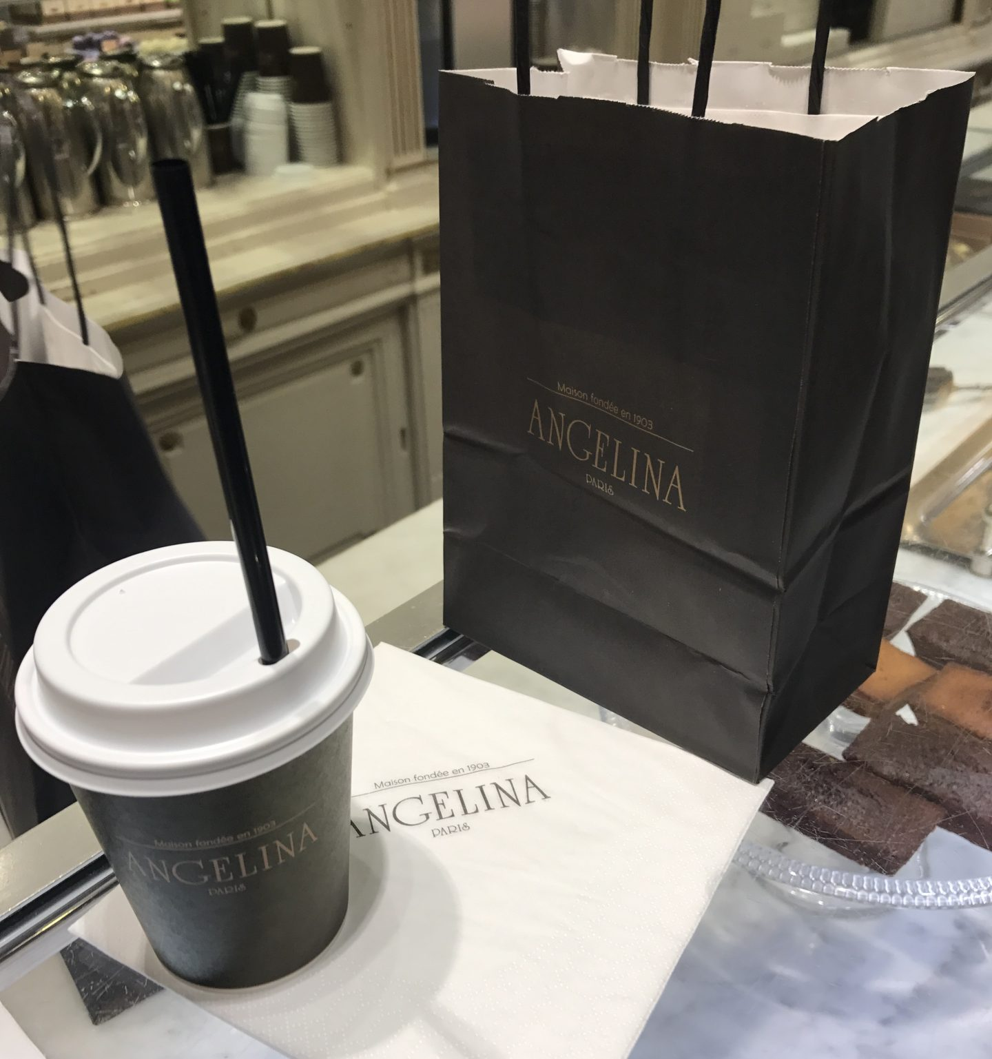 Angelina Treats in Paris