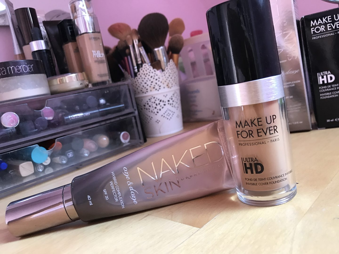 Summer Bases Urban Decay and Make Up Forever